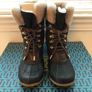TORY BURCH JADA SNOW BOOT/DUCK BOOT
